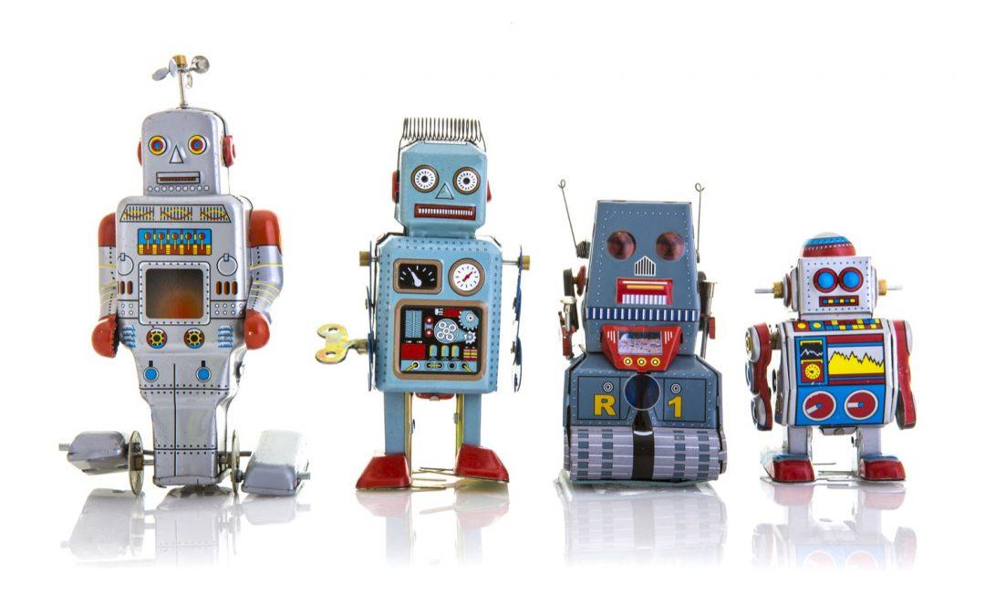 Parler avec un robot
