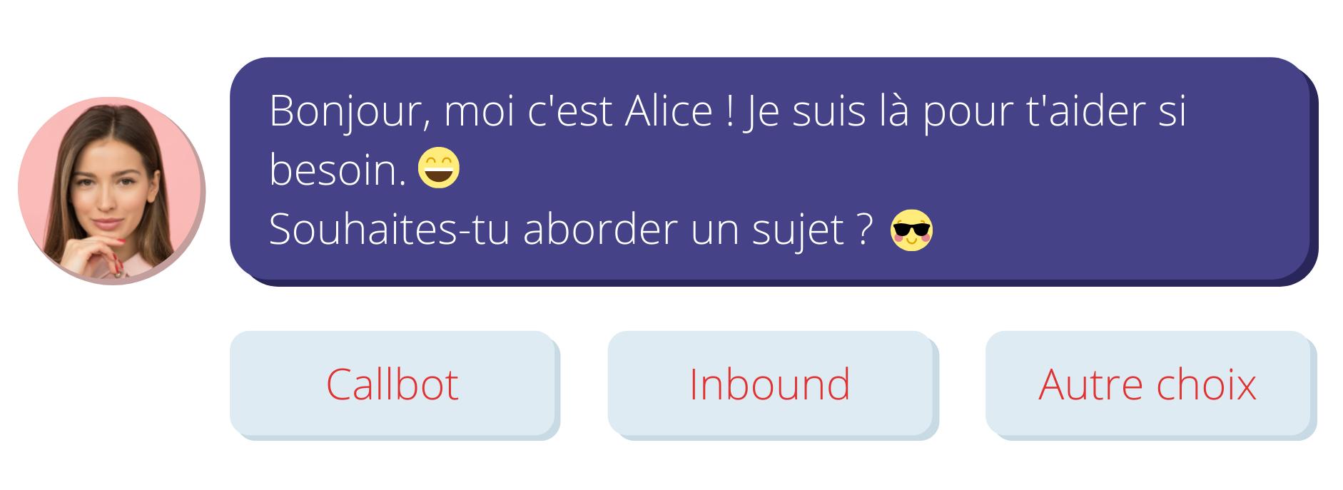 accroche scenario chatbot